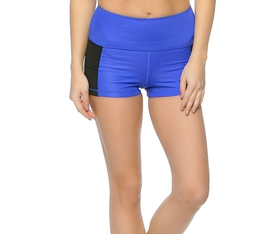Womens Tight Dazzling Short, Blue