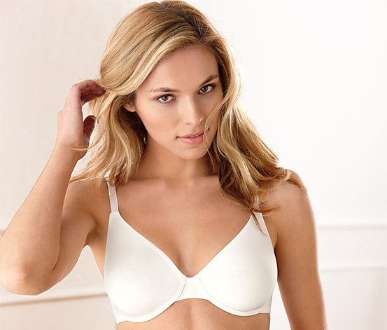 Women's Underwired Bra, Micro, Cream