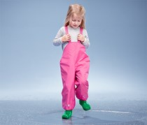 Girl's Toddler Thermo Rain Pants, pink