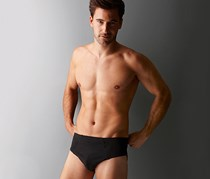 Men's Brief, set of 3, black