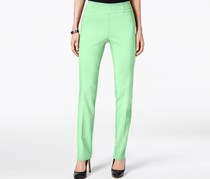 JM Collection Petite Studded Pull-On Pant, Mint Julip