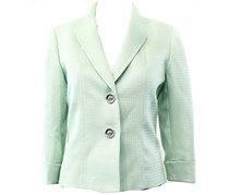 Tahari by ASL Women's 2-Button Blazer Jacket,Patel Green