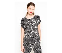 Guess By Marciano Animal Print Top, Black