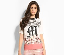 Marciano Boxy Flower T-Shirt, White Multi