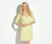 Guess by Marciano Allover Lace Dress, Lime