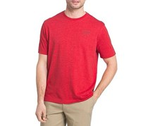 G.H. Bass & Co. Men's Climing Experts Graphic Tee, Salsa Heather