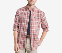 G.h. Bass & Co. Men's Madwaska Trail Plaid Shirt, Tandori Spice