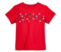First Impressions Baby Boys Cotton Graphic-Print T-Shirt, Red