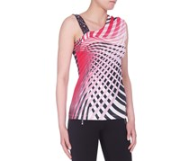 Guess by Marciano Women Sleeveless Top, Red Multi