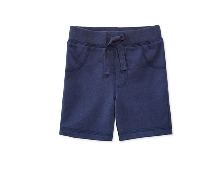 Baby Boys Pull-On Shorts, Navy Nautical