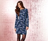 Women's Knitted Dress, Printed