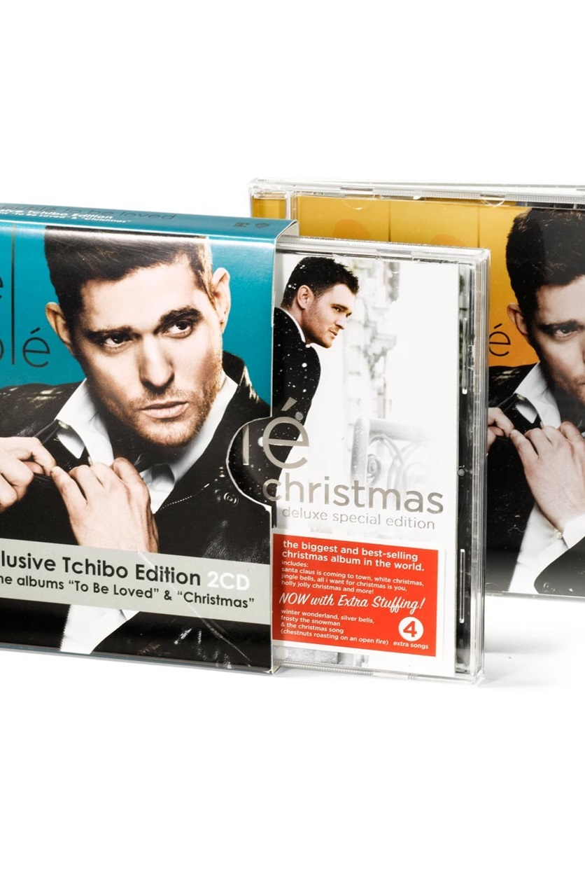 Michael Buble Holly Jolly Christmas.Shop Tchibo Double Cd To Be Loved And Christmas By Michael