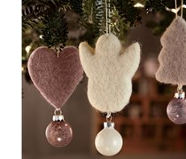 3 Christmas Tree Ornaments