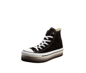 Women's Chuck Taylor All Star Hi Platform Shoes, Black