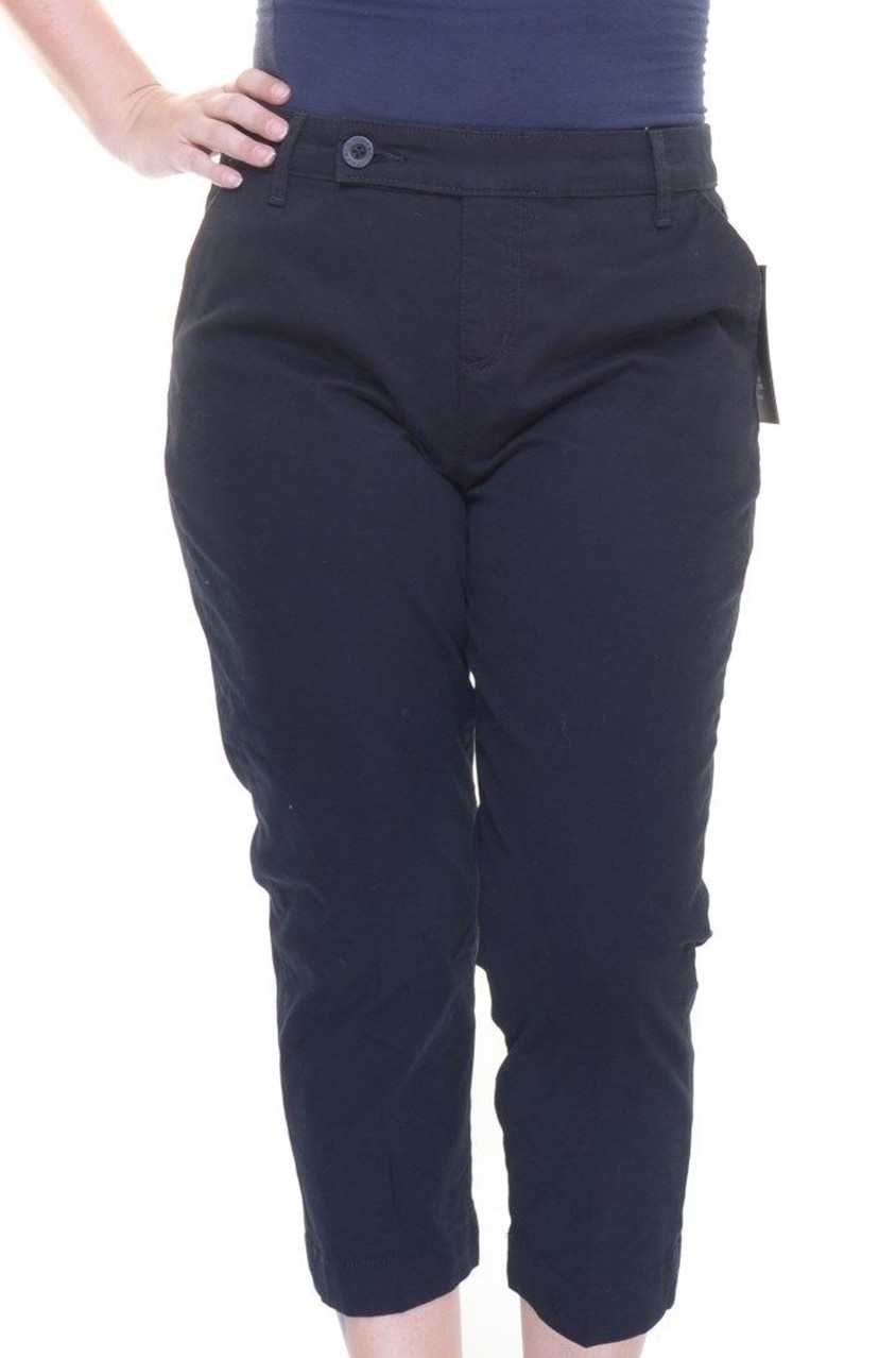 0f883ddc3f2 Shop Style & Co Style Co. Petite Tummy Control Capri Pant, Black for Women  Clothing in United Arab Emirates - Brands For Less