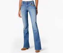 Style & Co. Petite Curvy Degraw Wash Bootcut Jeans, Degraw