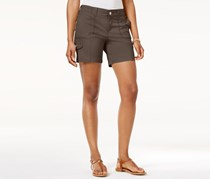 Style & Co Comfort-Waist Cargo Shorts, Brown Clay