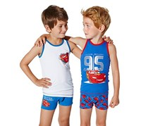 Boy's Slip Boxer, Set of 2