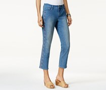 Style & Co Embroidered Capri Jeans, Sunnyvale