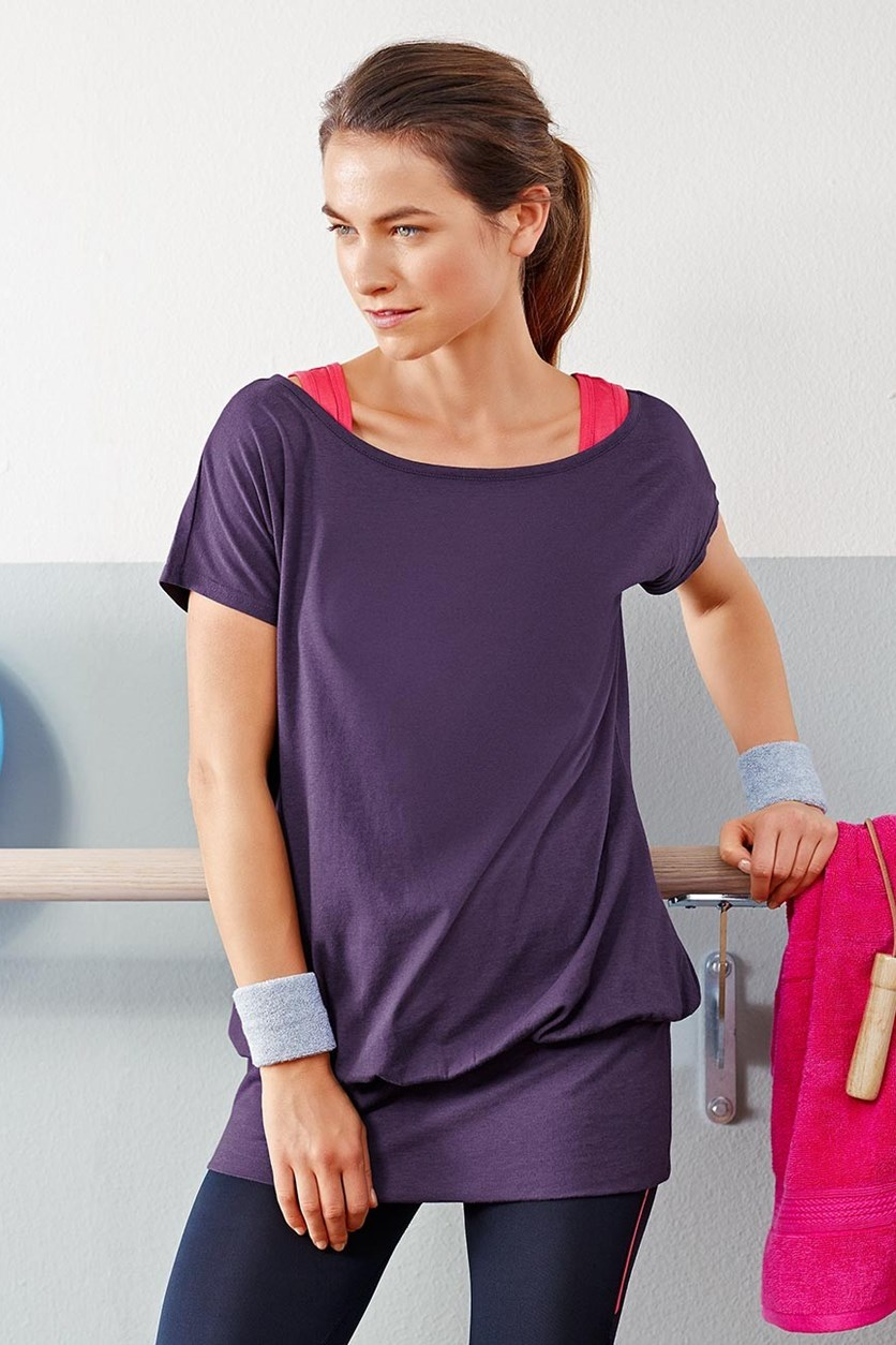 Women's Long Shirt, Purple