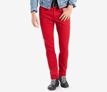 Levi's 510 Skinny Fit Jeans, Red