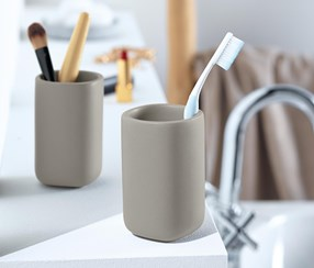 Toothbrush Mug, Set of 2