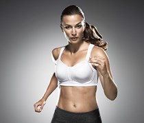 Women's Sports Bra, White