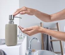 Soap Dispenser, Taupe
