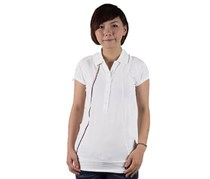 Puma Female BMW Joint Leisure Polo Shirt, White