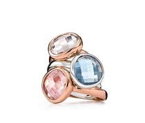 Women's FJ Ring, Pink Stone