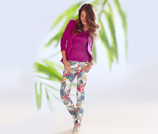 Women's Jeans, Printed