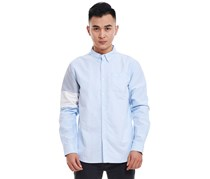 Puma Men's Color Block Shirt, Dusk Blue