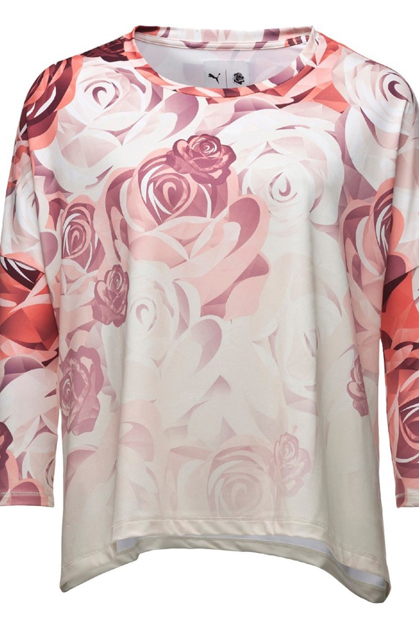 Careaux Long Sleeve, Porcelain Rose