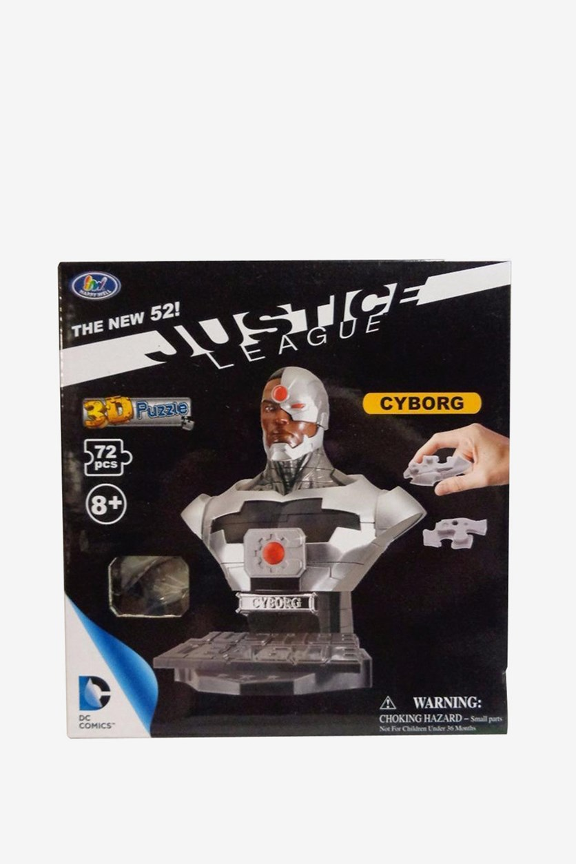 Justice League 3D Puzzle Cyborg