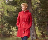 Women's Rain Coat, Red