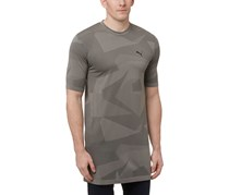 Puma Men's Evoknit Image T-Shirt, Medium Grey Heather