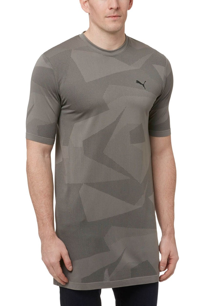 Men's Evoknit Image T-Shirt, Medium Grey Heather