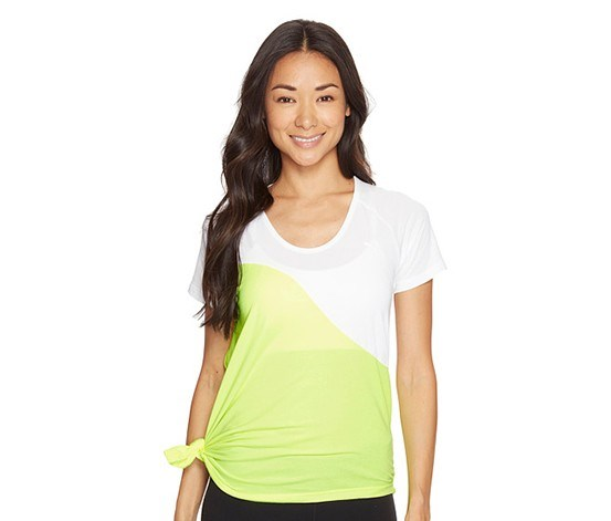 Women's Evolution Side Knot Tee, White