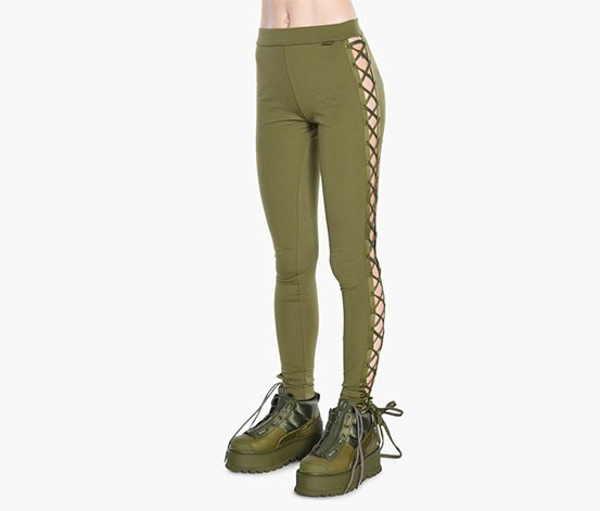 Women's Lacing Tight, Olive