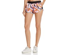 Puma X Sophia Webster Printed Shorts, Pink Combo