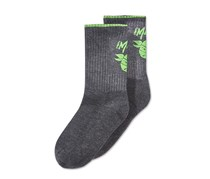 Little Boys TMNT Melo Carmelo Anthony Socks, Charcoal