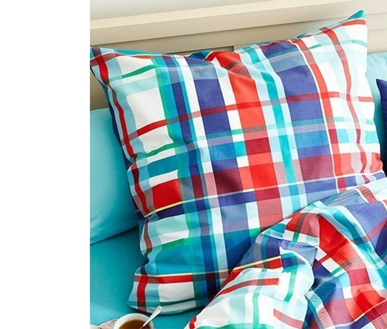 Renforce Duvet Set, 135 x 200 cm, Checkered