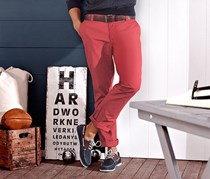 Men's Chino, Red