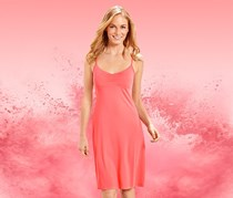Women's Night Dress, Pink