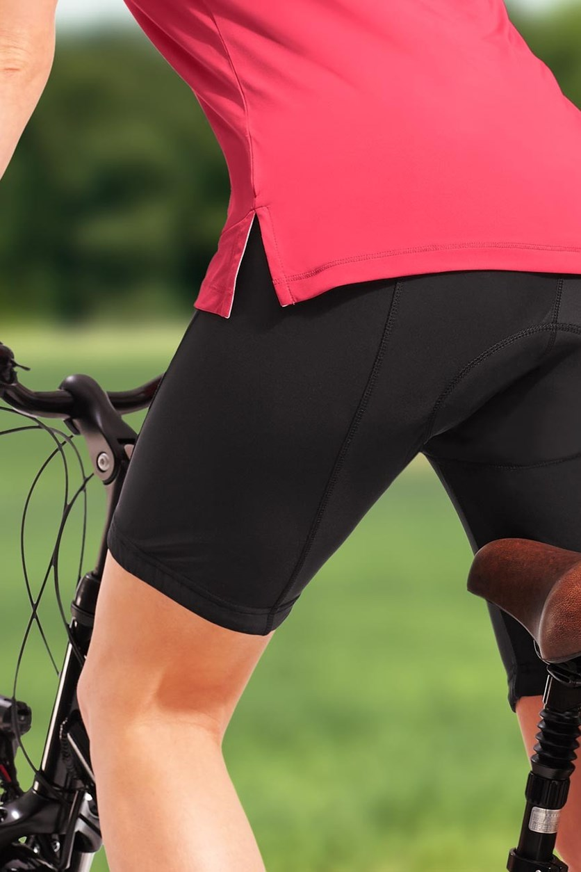 Women's Cycling Shorts, Black