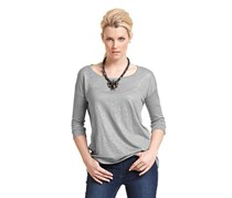 Women's Glittery Shirt, Gray