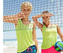 Women's Sports Top, Lime Green