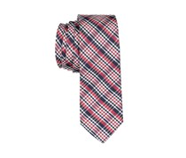 Lord & Taylor Boy's Plaid Neck Tie, Red/Black