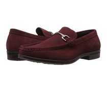 Stacy Adams Newcomb Moc Toe Slip On, Oxblood Suede