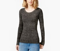 Energie Juniors' Shine Rib-Knit Pullover Sweater